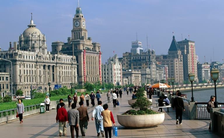 Shanghai, du Bund à la concession française
