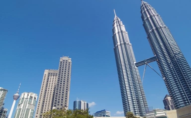 Arrivée et visite de Kuala Lumpur