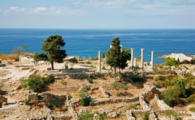 Vestiges romains de Niha et Faqra