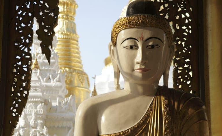 Arrivée et visite de Yangon