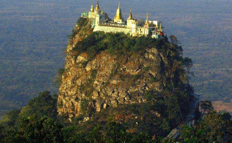 Monuments de Myinkaba ou Excursion au Mont Popa