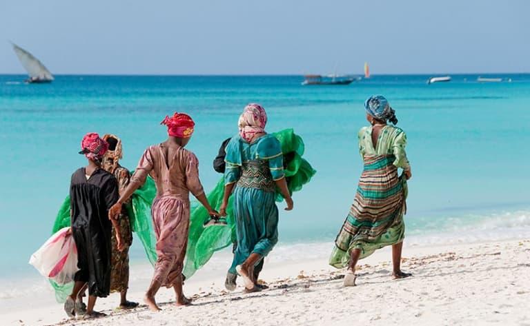 Envol vers l'île légendaire de Zanzibar