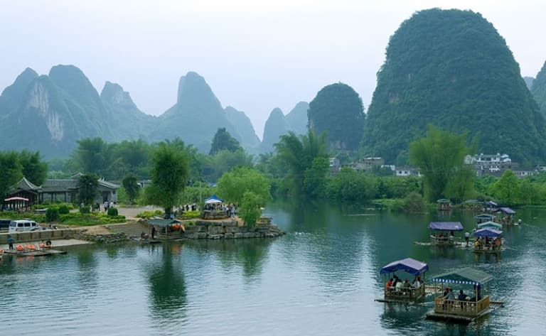 Visite de Guilin, le « site le plus beau sous le ciel »