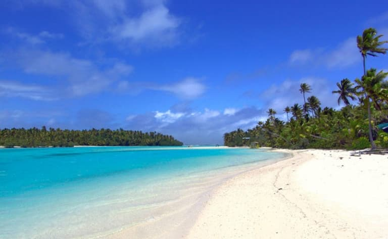 Journée idyllique sur un atoll