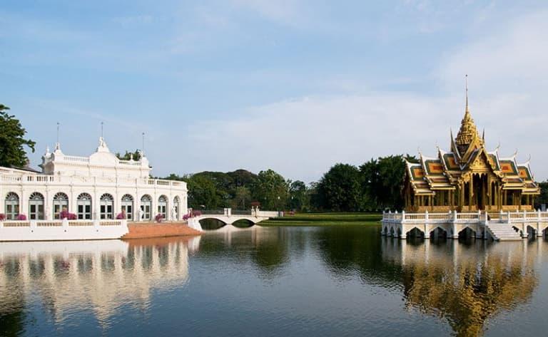 Palais d'été et ancienne capitale