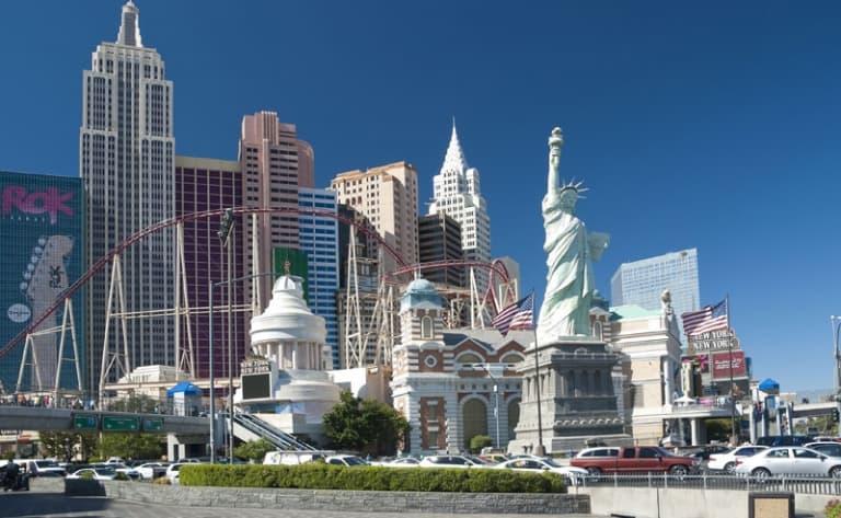 Départ pour Las Vegas