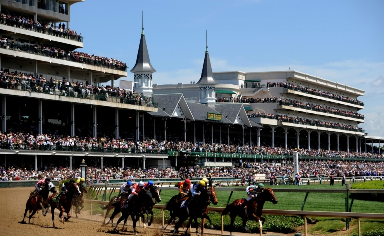 Churchill Downs et au Kentucky Derby Museum
