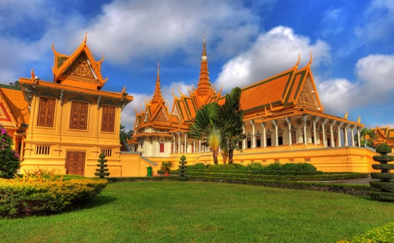 Arrivée à Phnom Penh