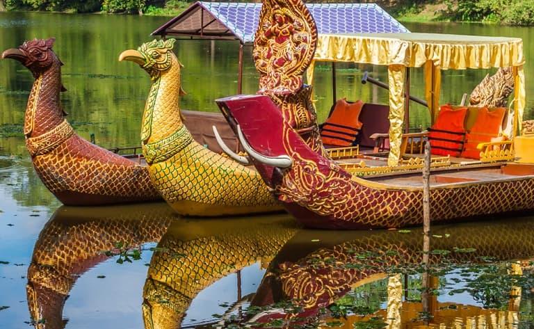 "Croisière en ""Angkor Gondola"""
