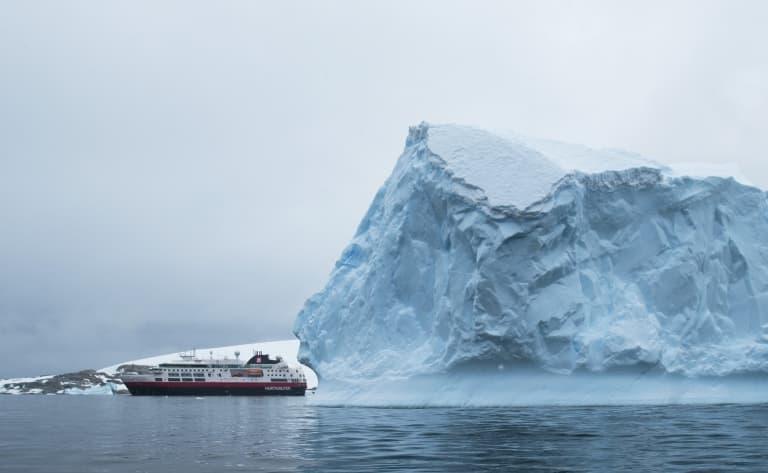 A bord de l'Hurtigruten