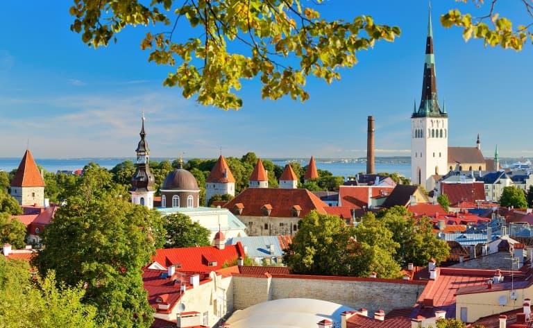 Tallinn, la beauté médiévale