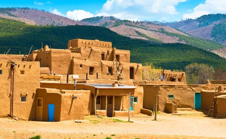 Sur la route de Taos