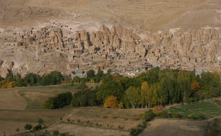 Les ruines impressionnantes de Takht-ê-Soliman