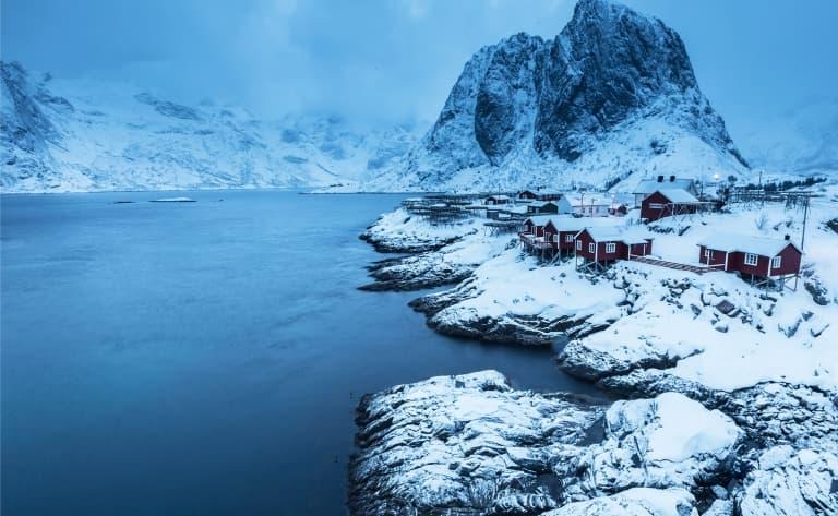 Des îles et des fjords !