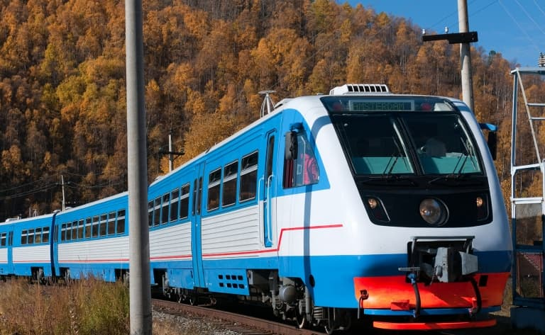 A bord du train mythique : le Transsibérien !