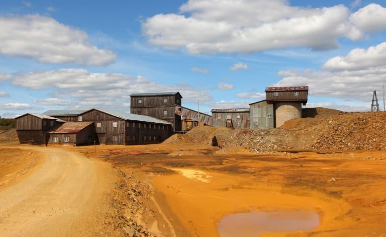 Les mines de Gällivare