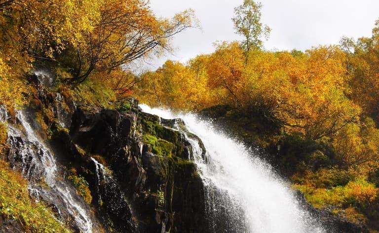 La puissante cascade de Kara-Ghême