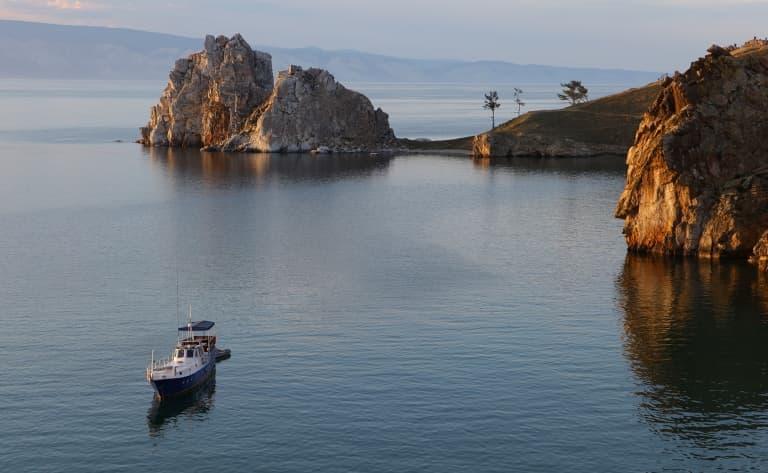 En route vers la splendide île d'Olkhon