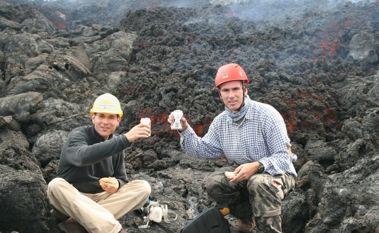 Ascension du volcan actif de Pacaya