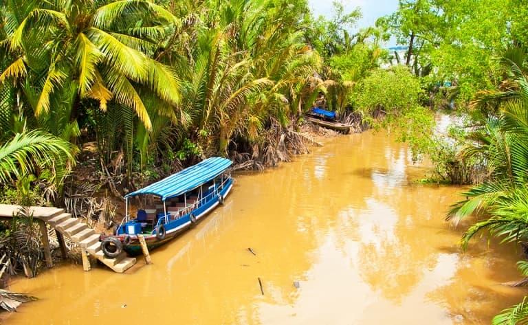 Une journée dans le delta du Mékong
