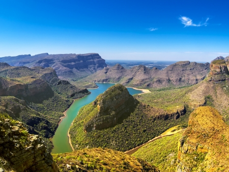 Merveilleux Canyon de la Blyde River