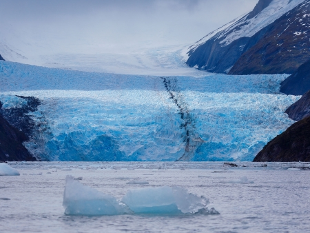 Du Glacier Pia au Fjord Garibaldi