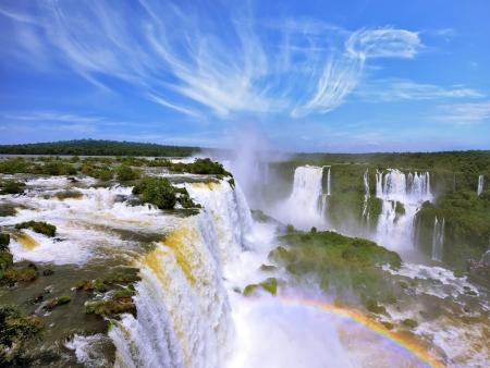 Les chutes d'Iguazu côté brésilien