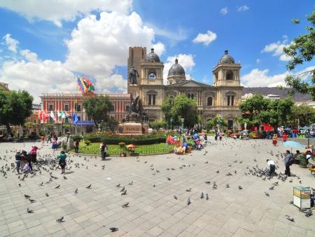 La Paz, la capitale administrative bolivienne
