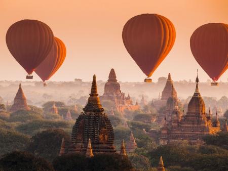 Deuxième journée dans la plaine de Bagan