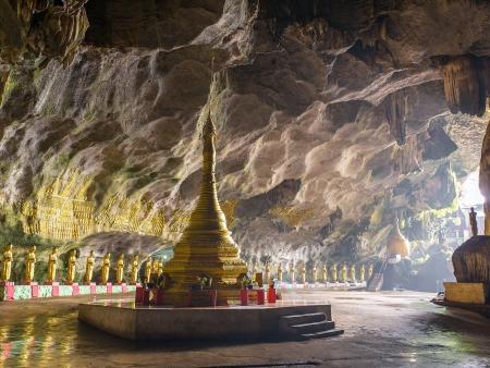 Grottes sacrées et temples perchés