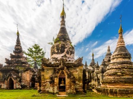 Les anciennes capitales birmanes