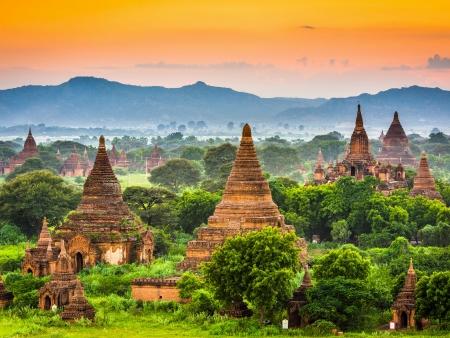 Le site archéologique de Bagan