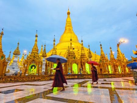 La vie locale à Yangon