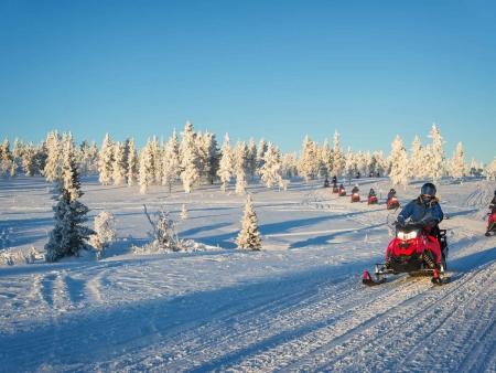 Journée de motoneige au cœur du Saguenay !