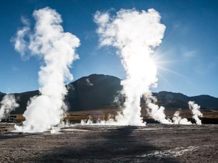 Les geysers del Tatio