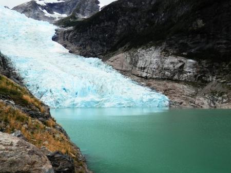 Les glaciers Balmaceda et Serrano