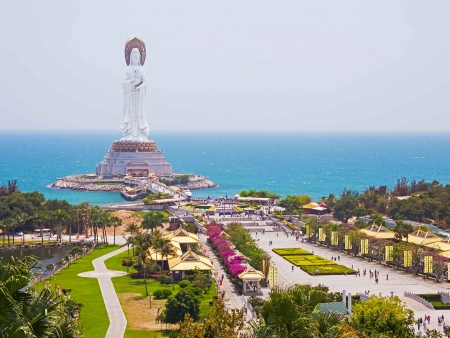 Envol vers l'île de Hainan