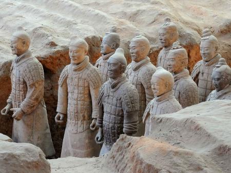 Mausolée de l'empereur Qinshihuang : l'Armée de Soldats en Terre Cuite