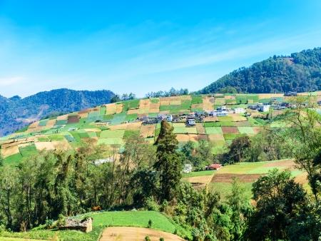 Sur les routes montagneuses du Guatemala