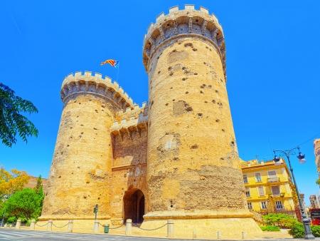 Au cœur de la vieille ville de Valencia