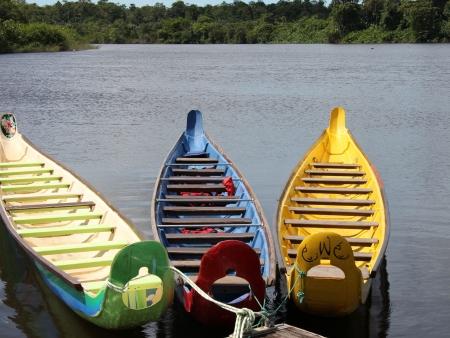 Début de la croisière en Amazonie