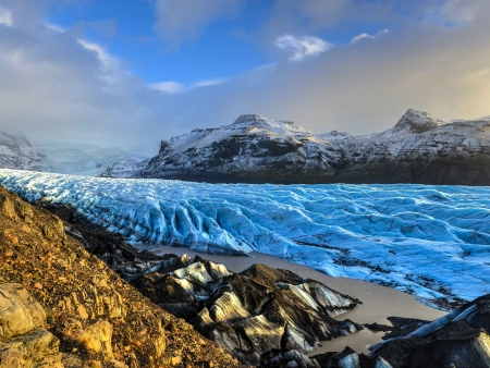 Le Parc national de Skaftafell et la lagune glaciaire de Jökulsarlon