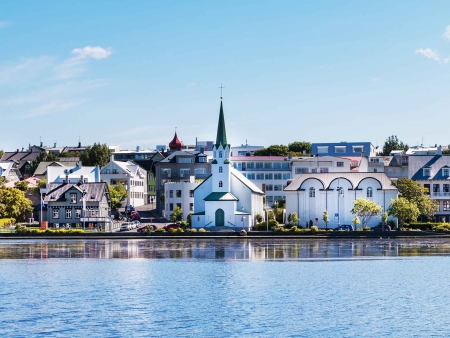 Le temps d'une escale à Reykjavik