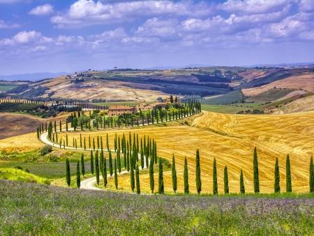 Val d'Orcia, l'authentique Toscane