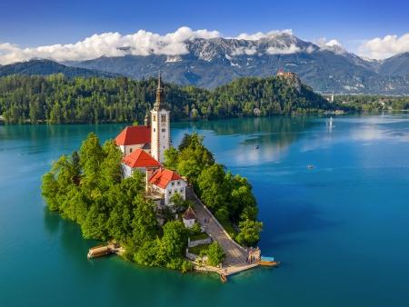 Bled et son île pittoresque