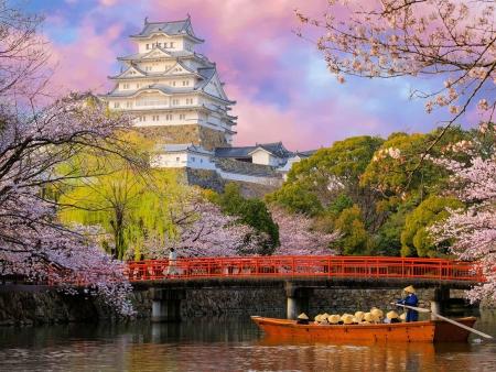 Le Château d'Himeji et le jardin d'Okayama