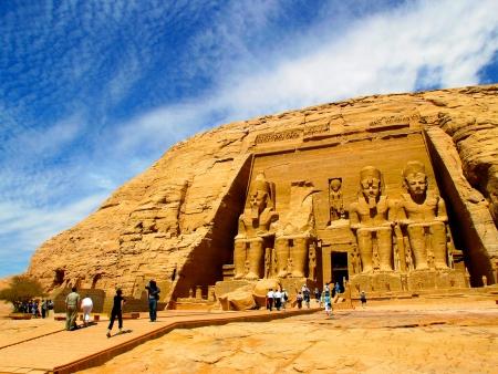 Abou Simbel, joyaux du sud de l'Egypte
