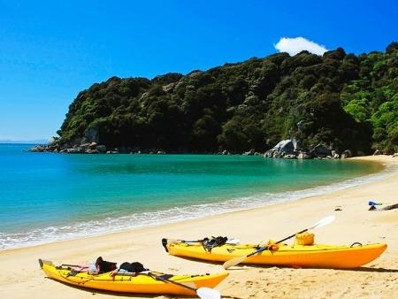 Journée d'aventure sous le soleil d'Abel Tasman