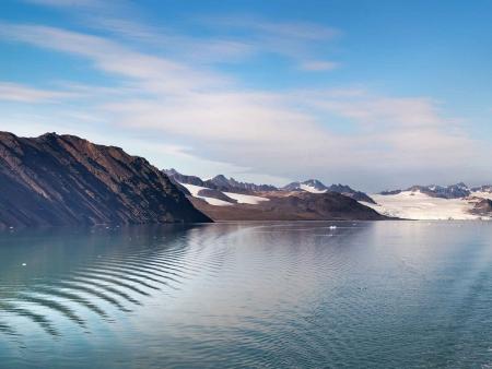 Navigation sur l'Isfjord