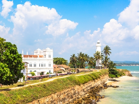 Galle et son fort hollandais